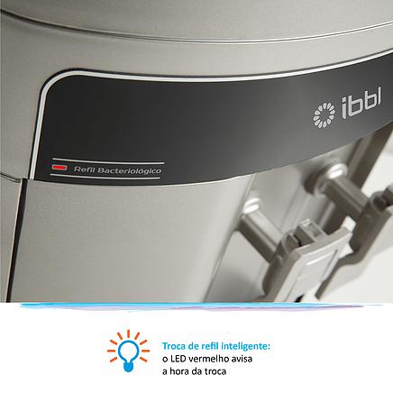 FR600 Exclusive IBBL Prata com LED inteligente