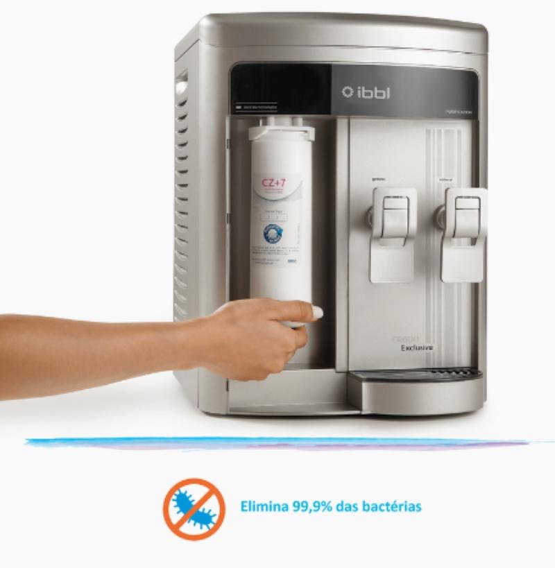 FR600 Exclusive IBBL Prata elimina bactérias