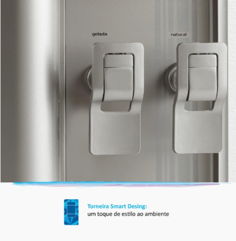 FR600 Exclusive IBBL Prata torneira smart design