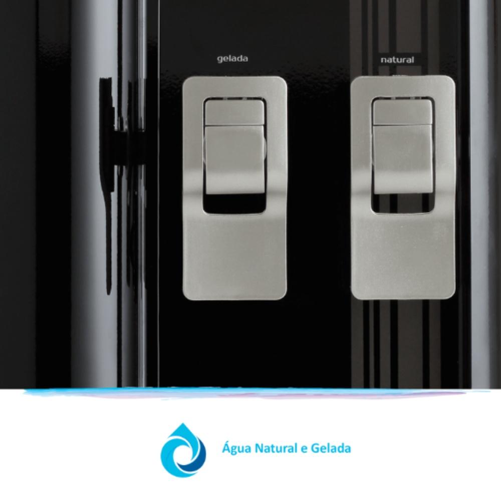 FR600 Exclusive Preto água natural e gelada