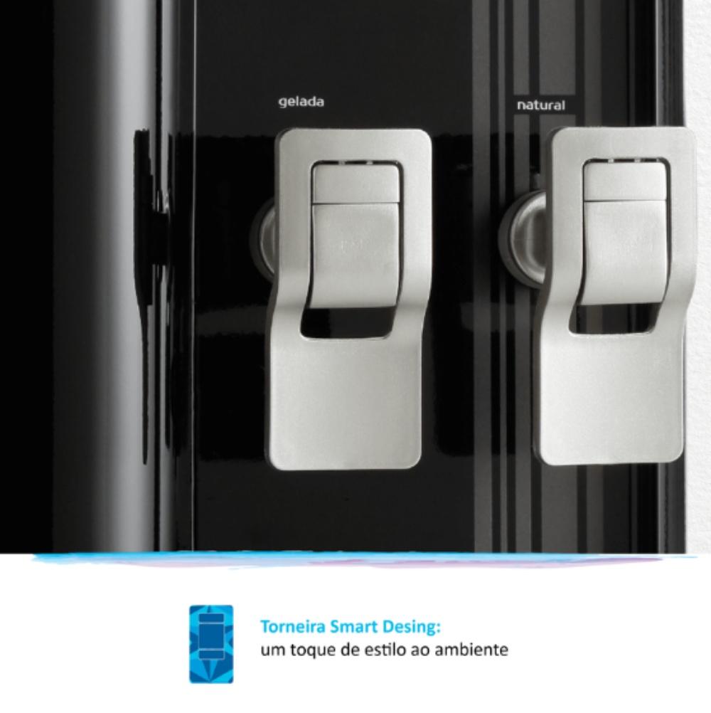 FR600 Exclusive Preto torneira smart
