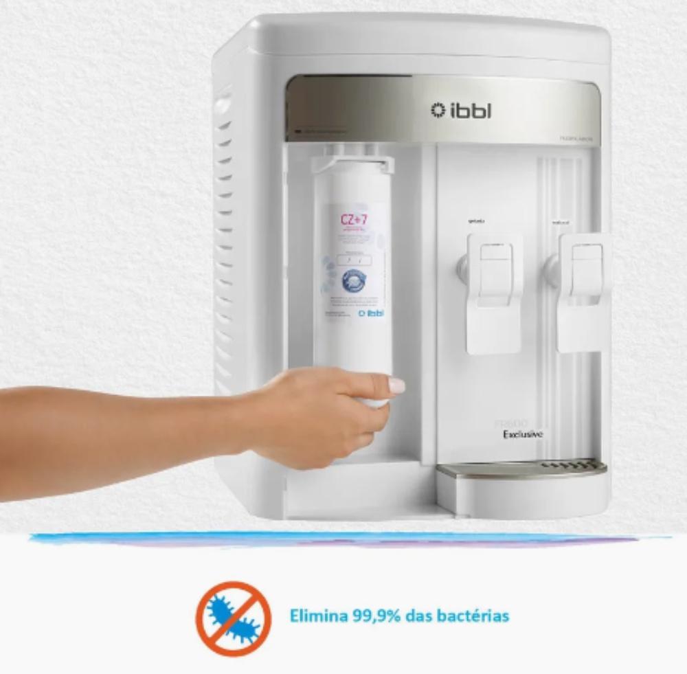 IBBL FR600 Branco elimina bactérias