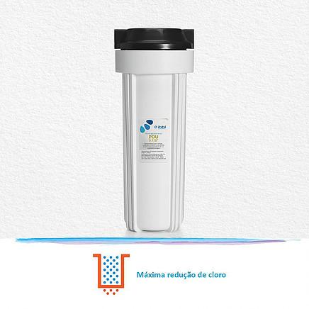 Filtro POU IBBL 9.7/8 redução de cloro