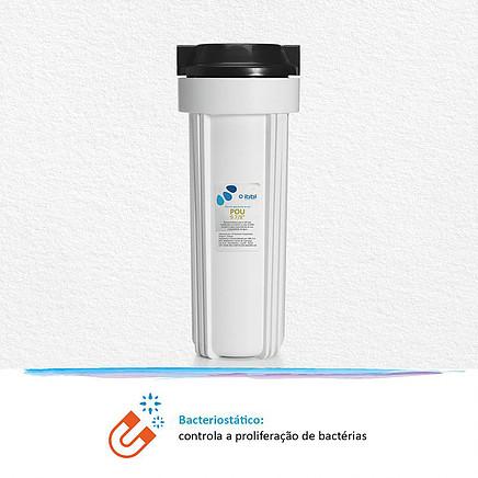 Filtro POU IBBL 9.7/8 controla proliferação de bactérias