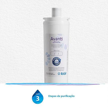 Refil Filtro para Purificador de Água Avanti 3 etapas