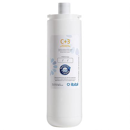 Refil C+3 IBBL para Filtro de Água
